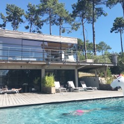 Villa Mogador Cap Ferret a fantastic B&B or villa rental with pool. France family holidays