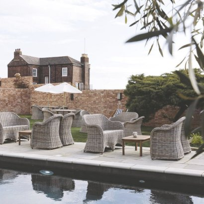 North House, a boutique hotel with heated pool on the isle of wight. Read the post to find all the details.