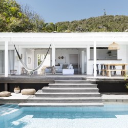 Villa Palmiers, a beautiful villa rental with pool in Saint Barth, French Caribbeans