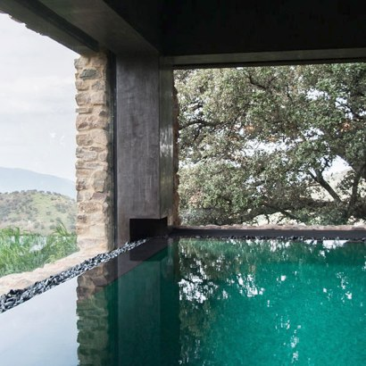 La Donaira, located in Montecorto in the Andalucía region, this hotel with a farm offers uniquely styled accommodation and a spa with outdoor and indoor heated pool.