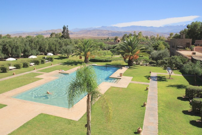 The Capaldi, Morocco, one of the secret hotels with pool revealed by travel bloggers