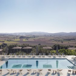 Finca Serena, a new luxury hotel with pool in Mallorca opening in 2019. ONe of the new boutique hotels with pools openings that you can discover in this post