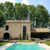 A lot of villa rentals with pool are actually not available to rent on the usual sites such as Homelidays, Abritel, Homeaway or airbnb.  That's where your network of friends is helpful. You can also join some Facebook groups.  This is where I found this beautiful villa rental in Provence.
