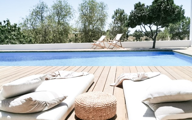 Cucumbi, a bed and breakfast and agroturismo in Alentejo, Portugal.  Beautifully styled and remote to enjoy the slow life. B&B with swimming pool