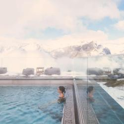 The best ski hotels with pools or ski resorts with swimming pool in 2021.