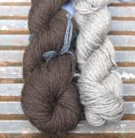 £15 pair 2 skeins softest DK baby Yak - 113m each -