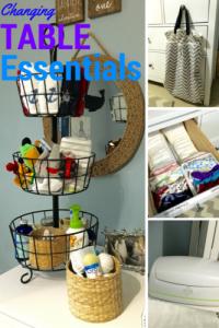 Nursery Dresser Organization by From Under a Palm Tree
