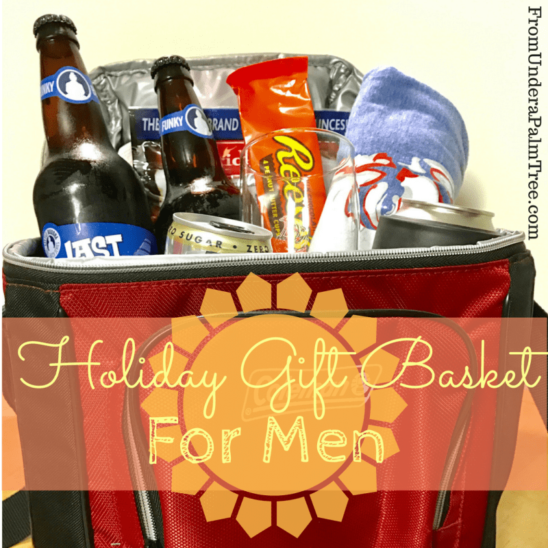 Holiday Gift Basket For Men