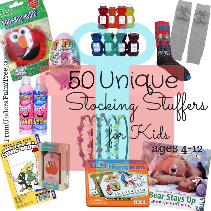 50 Unique Stocking Stuffers Kids