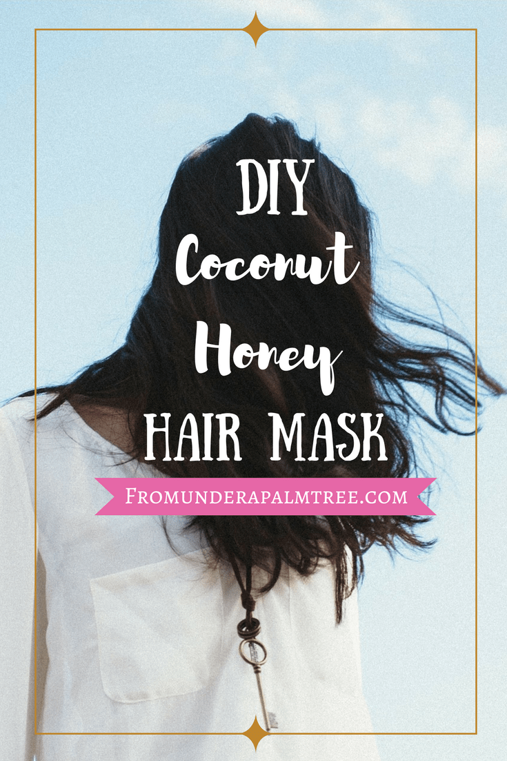 Use this coconut honey hair mask to revitalize your hair all naturally! Click here for the DIY recipe | DIY hair mask | Hair mask | all Natural hair mask | coconut honey | Coconut honey hair mask | DIY coconut honey hair mask |