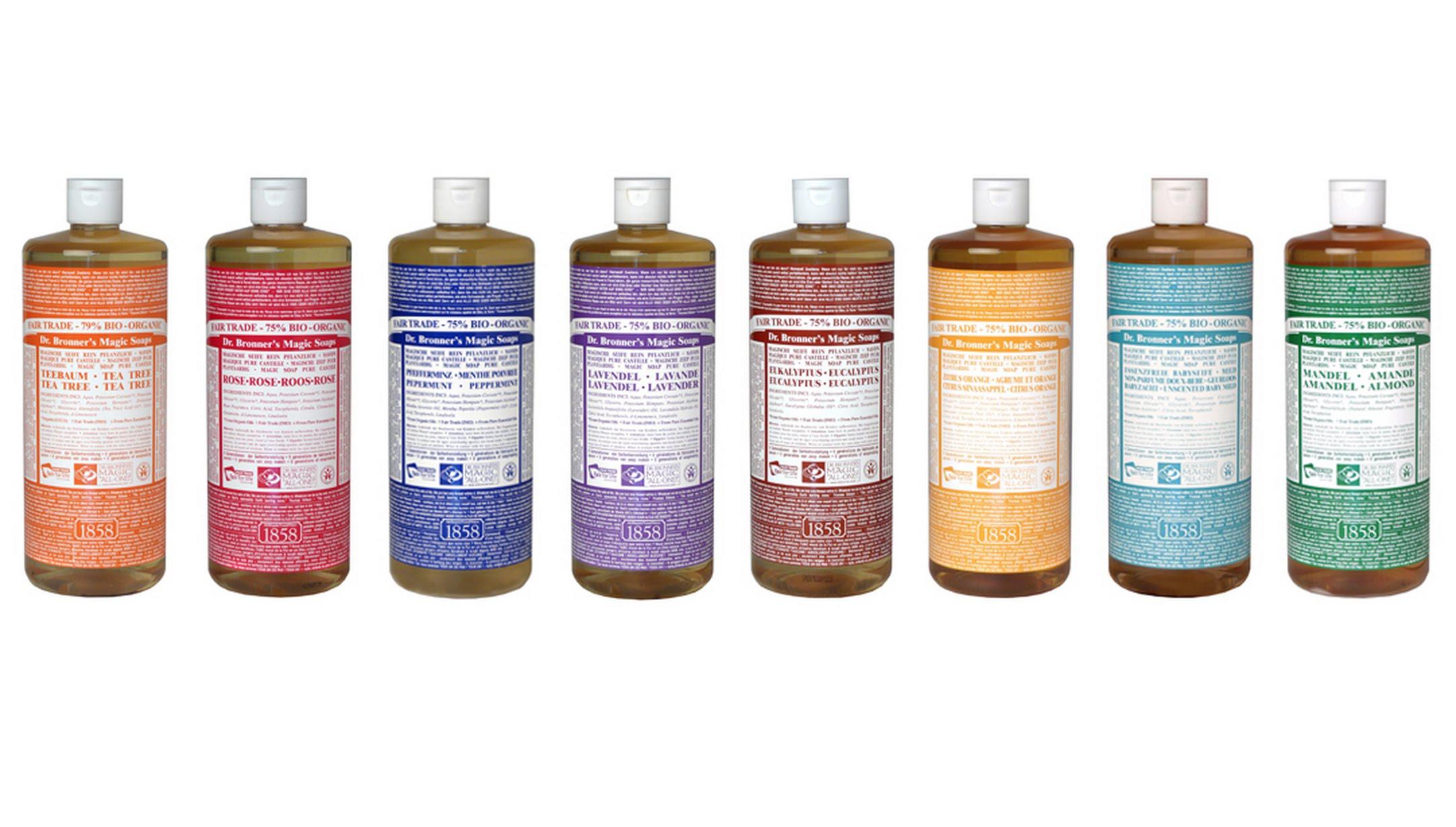 Dr. Bronner's Pure-Castille Soap