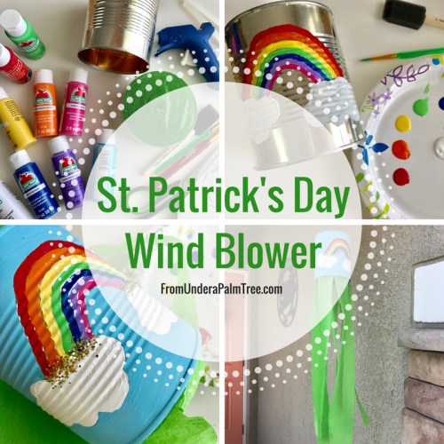 St. Patrick'sDay Wind Blower by From Under a Palm Tree