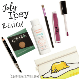 July Ipsy Review