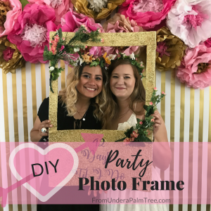 DIY Party Photo Frame