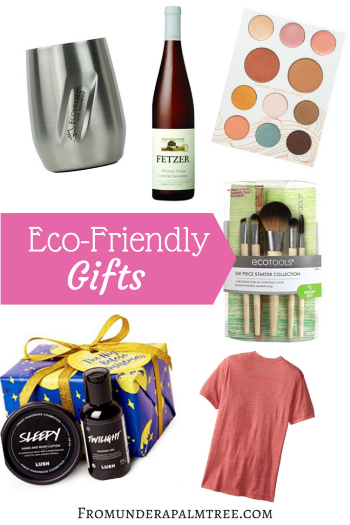 Eco-friendly gifts | green gifts | lush cosmetics | ecotools | alternative apparel | Pacifica | fetzer | eco vessel | eco-friendly | sustainable living | sustainable gifts | green brands |