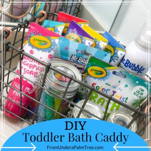 Toddler Bath Caddy