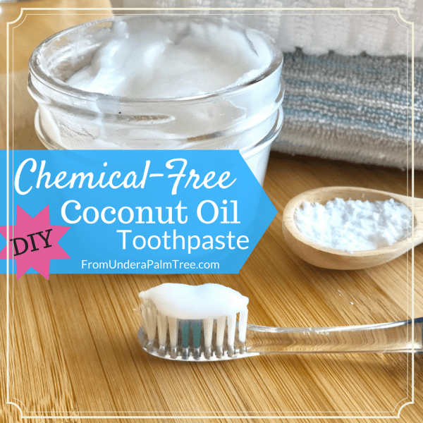 chemical free toothpaste | coconut oil toothpaste | homemade toothpaste | DIY toothpaste | toothpaste | homemade personal care products | baking soda toothpaste | baking soda recipes | DIY | DIY toothpaste | how to make toothpaste | how to make your own toothpaste | toothpaste recipe |