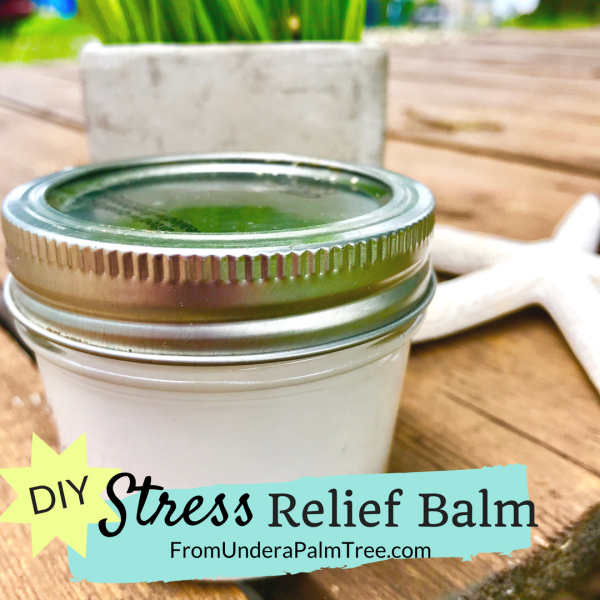 DIY stress relief balm | natural stress relief balm | shoulder pain relief | DIY beauty tricks | DIY balm | coconut stress balm | essential oils | Young Living | Young Living essential oils | stress relief balm recipe | beauty hacks | pain relief hacks | pain away | stress pain balm |