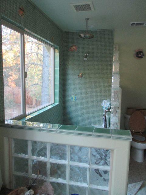 J's shower