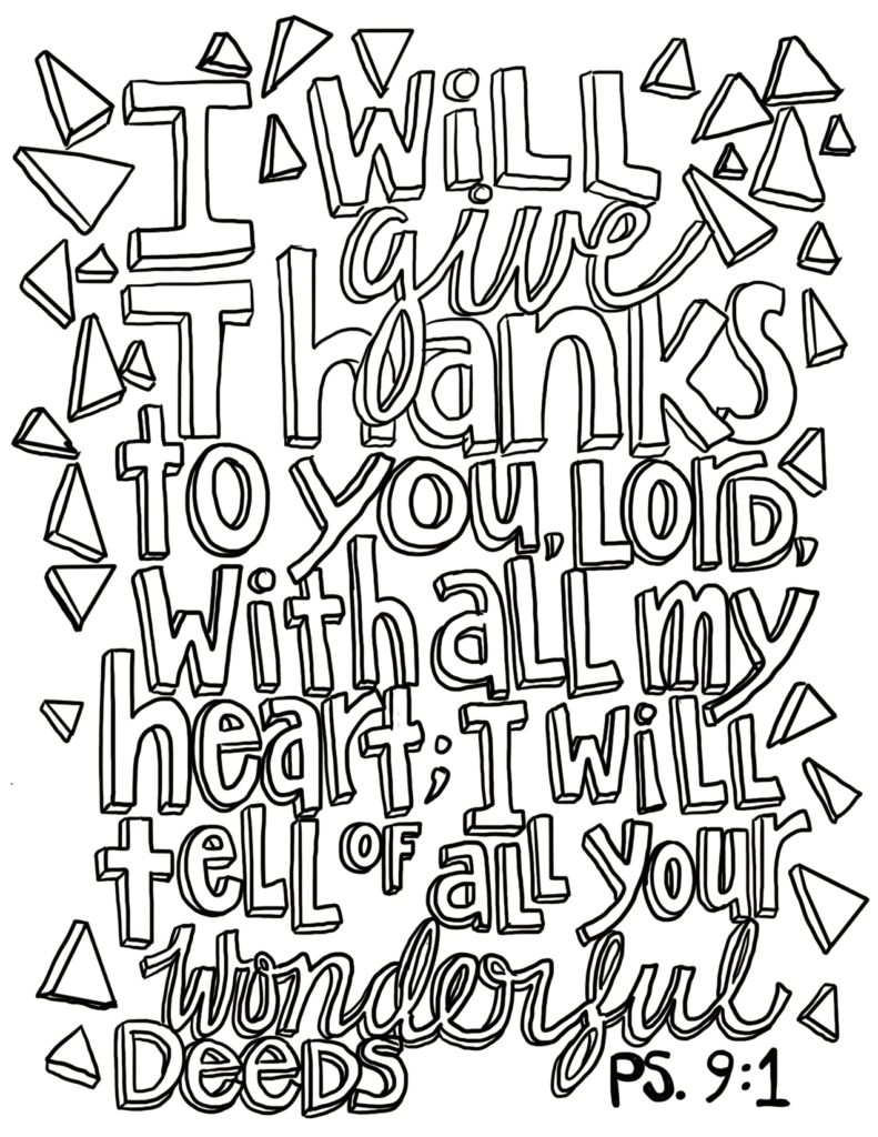 free coloring page psalm 91 – from victory road