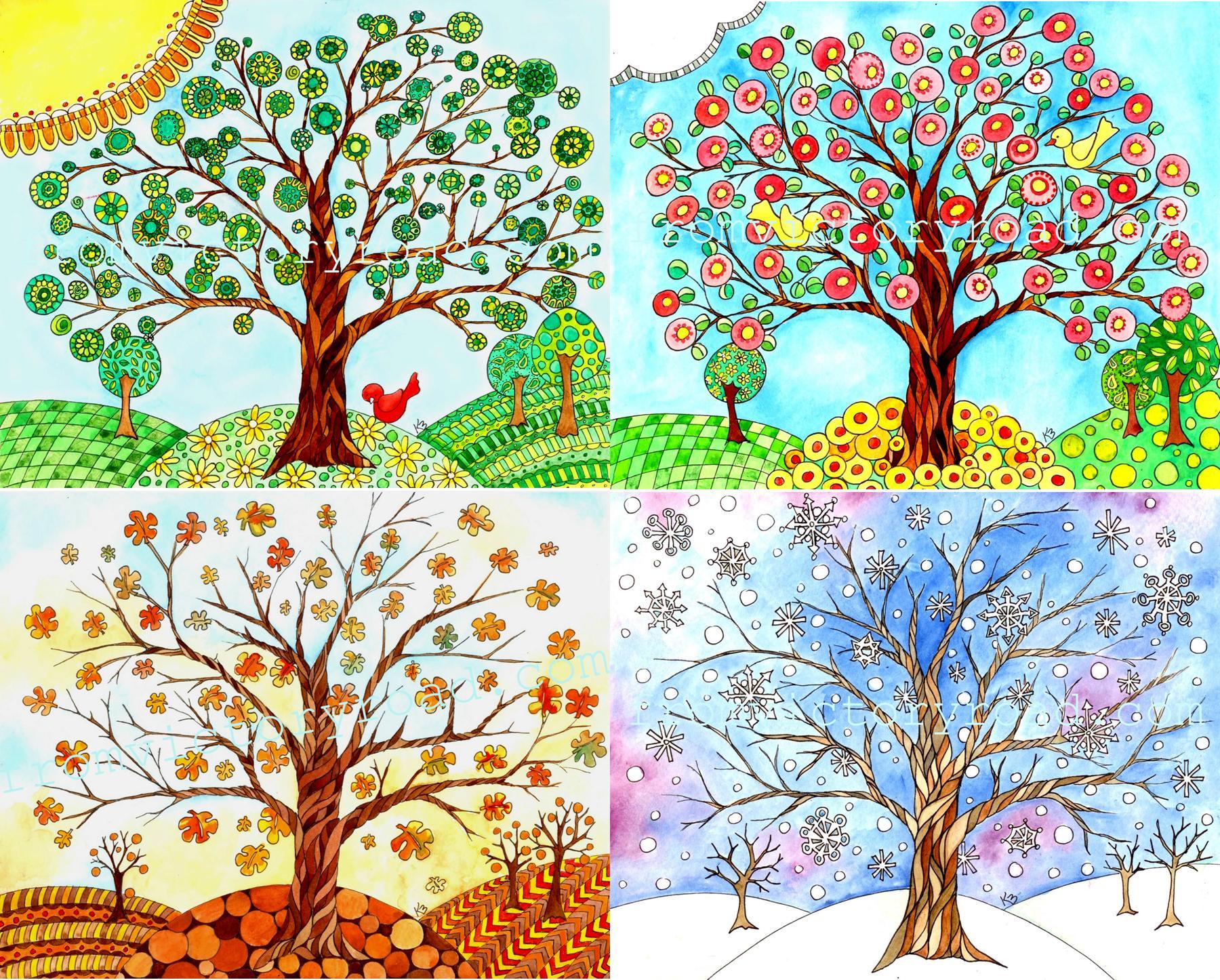 A Progression Of Trees