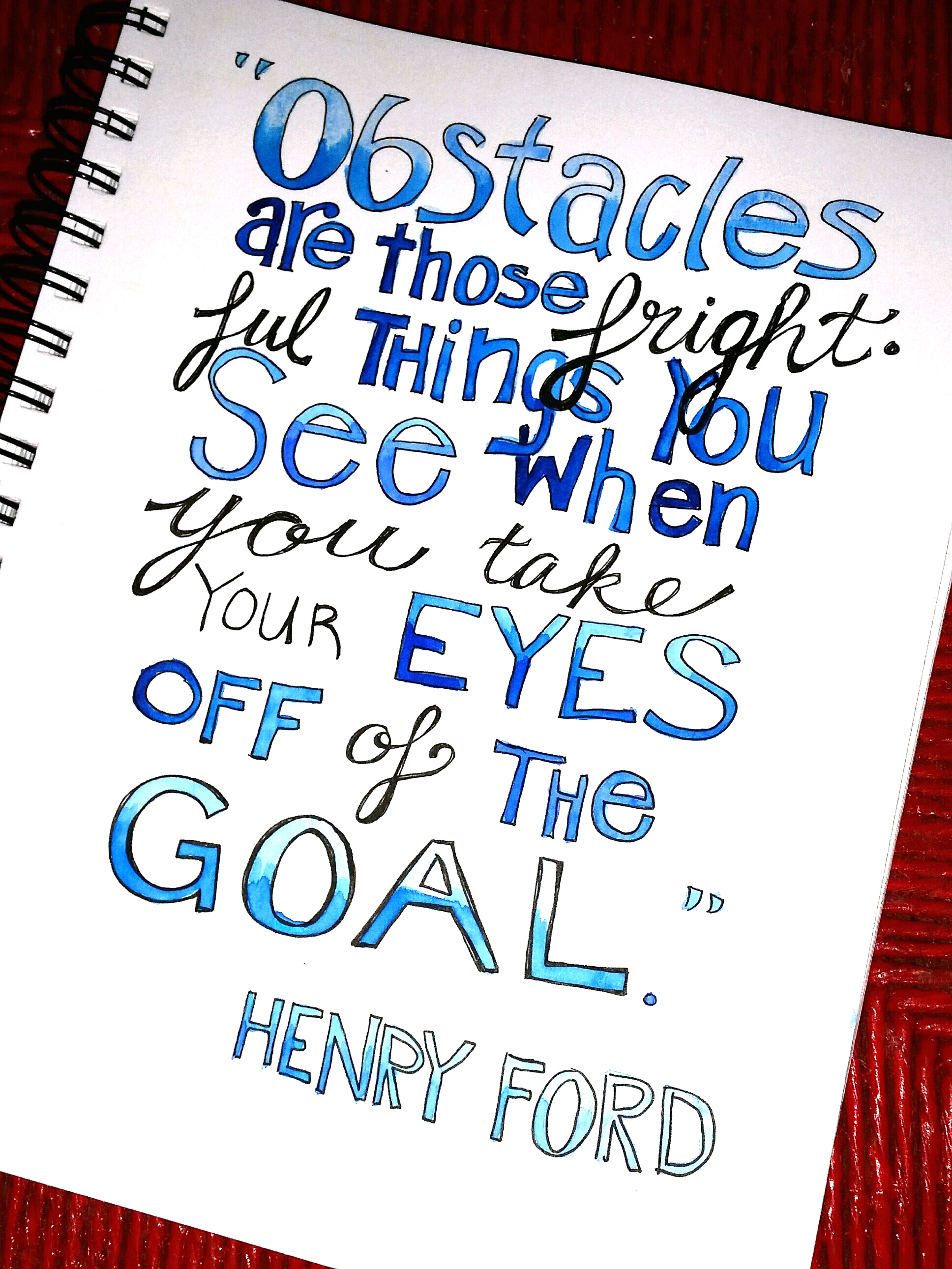 Henry Ford On Obstacles From Victory Road