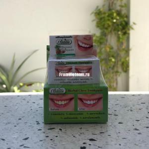 Отбеливающие зубные пасты из Тайланда
