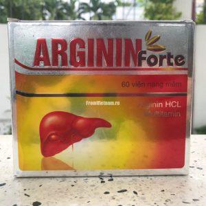 Arginin Forte (Аргинин Форте) для восстановления печени 60 капсул