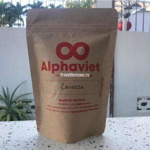 Кофе Лавацца АльфаВьет (Lavazza AlphaViet) в зернах 200г