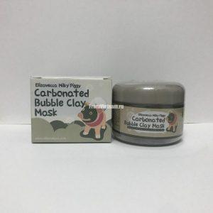 Carbonated bubble clay mask elizavecca пузырьковая грязевая маска (не оригинал)