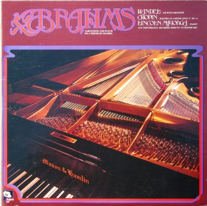 Vinyl Review: Brahms Variations and Fugue - Sheffield Lab 4
