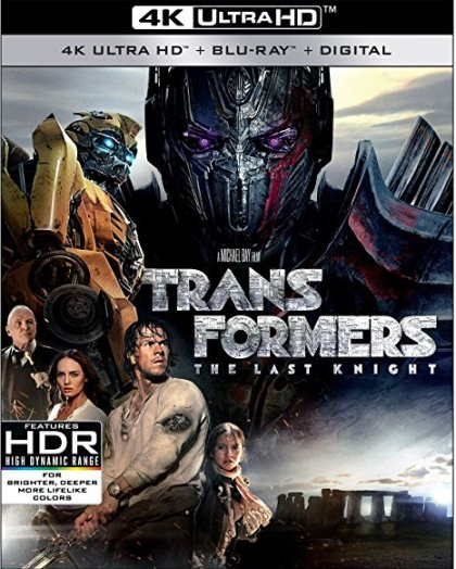 Blu Ray Review: Transformers The Last Knight
