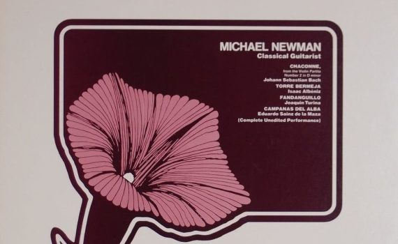 Vinyl Review: Michael Newman - Classical Guitarist - Sheffield Lab 10