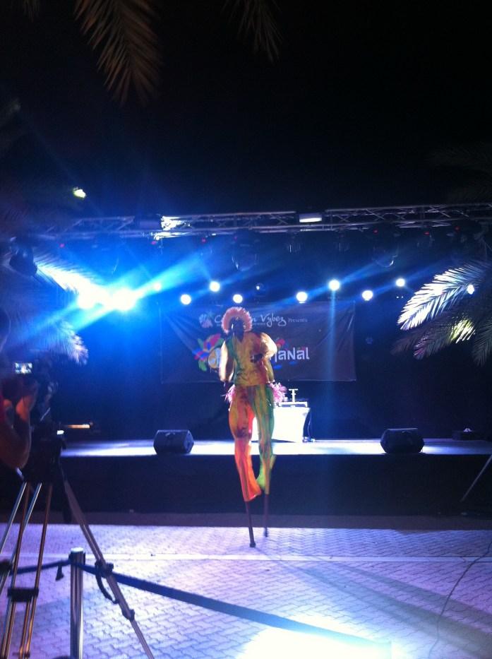 Caribbean party Mocko Jumbie