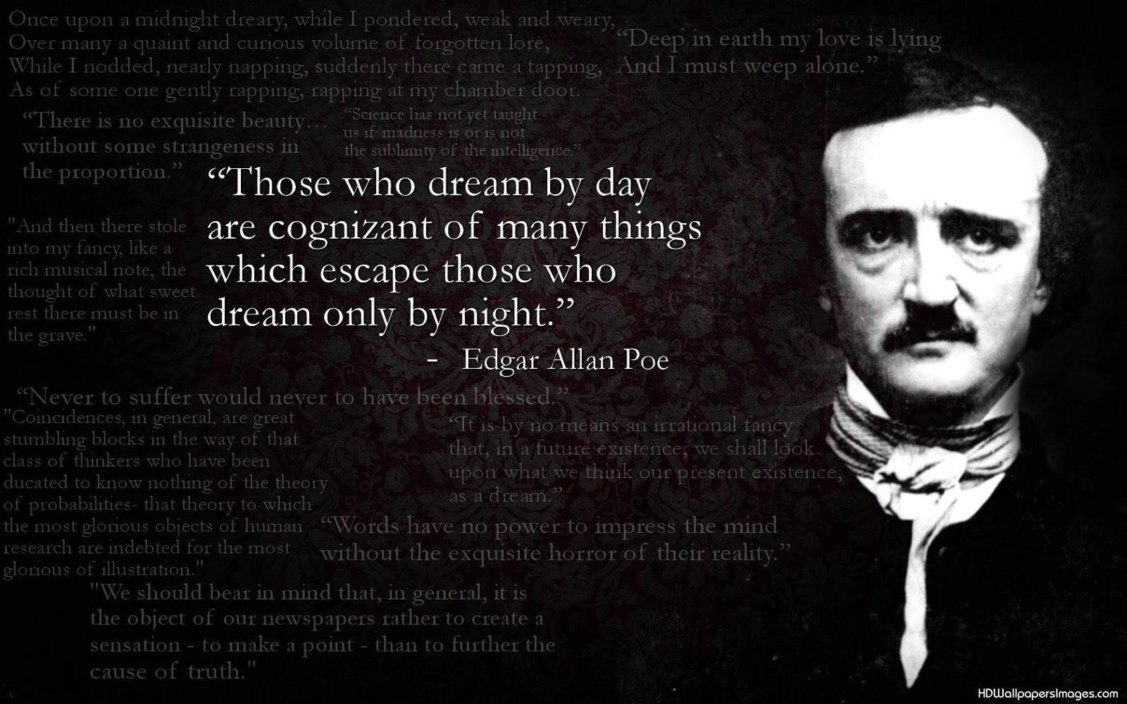 Edger Allen Poe Words