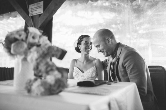 Sweetheart table wedding reception Saratoga Inn Wyoming