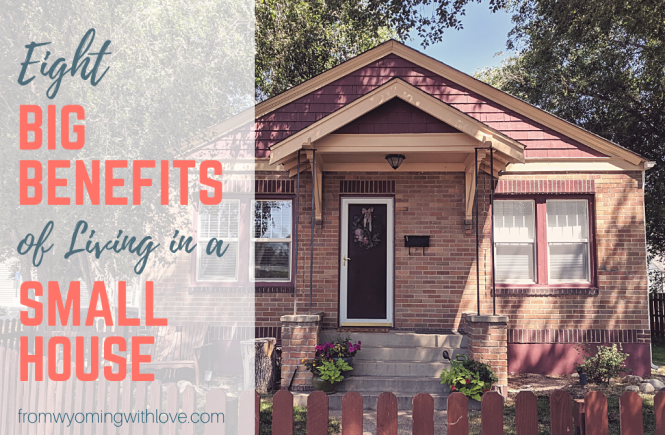 Red Brick House and Benefits of Small House Living