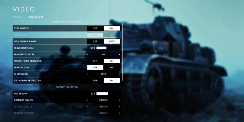 Battlefield 5 Firestorm - Best Graphics Or Video Settings (GTX 1050