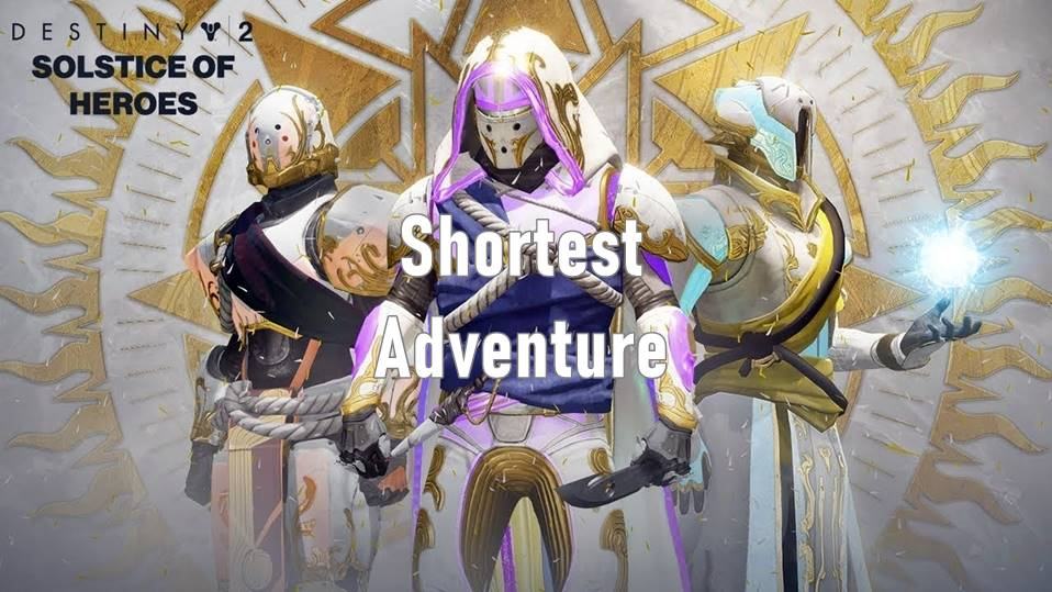 Destiny 2 Shortest Or Smallest Adventure In The Game