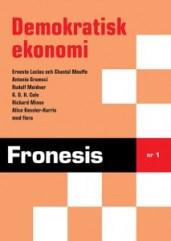 Omslaget på Fronesis nr 1 i nytryckt version.