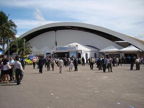 Todos os espaços construídos receberam adaptações para a realização da CGADB