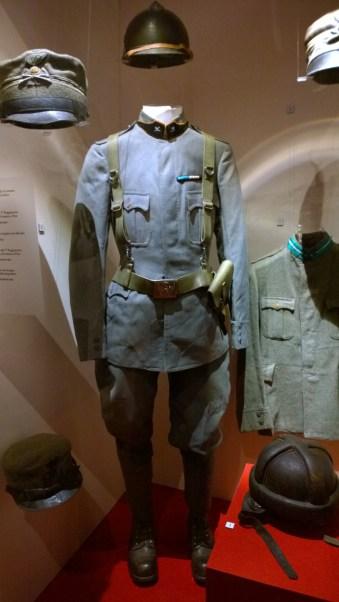 Uniforme da tenente di Artiglieria