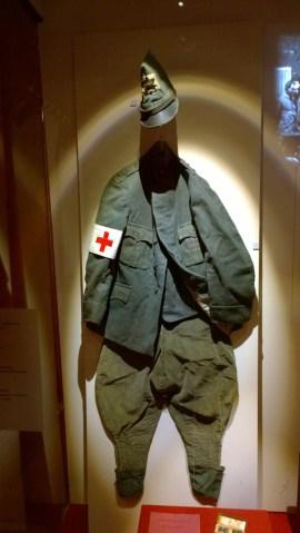 Uniforme da tenente della Sanità