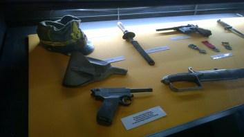 Pistola Glisenti e altri cimeli
