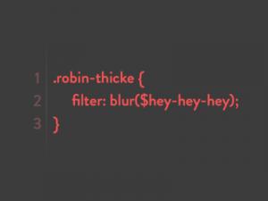 Robin Thicke code pun