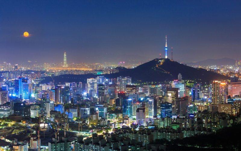 Resultado de imagem para seoul city