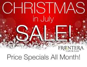 Christmas in July Sale #1