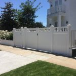 Accent top gates with sections