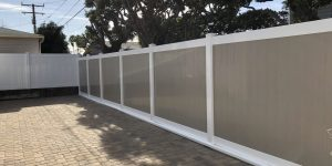 Two Tone Privacy Fence
