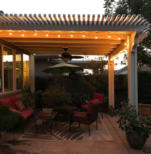 vinyl patios in Los Angeles